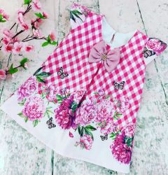 Vestido Trapézio Floral Mod.15 PrintIX
