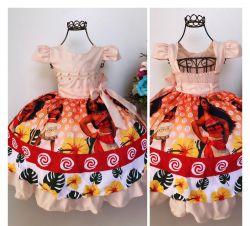 Vestido Festa Moana Mod.6 Puzzle